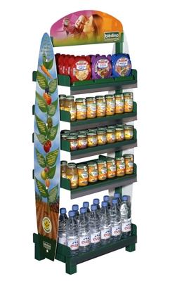 stockeur de produits bledina
