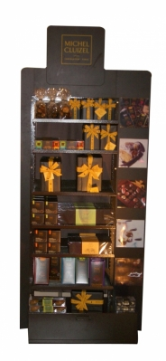 stockeur mural de chocolats