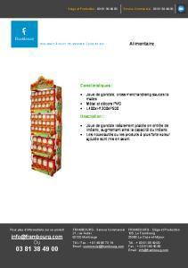 Joue de gondole cross merchandising - Heinz