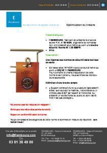 Plaquette broche - Frambourg